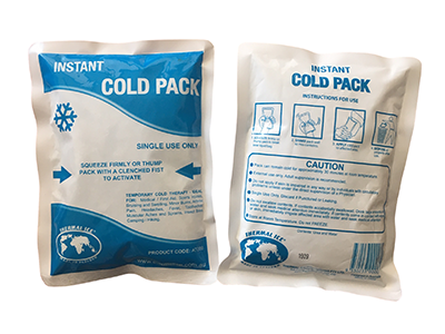 Instant Cold Packs by Thermal Ice