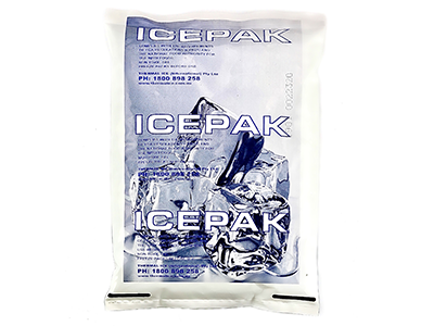 Pre frozen gel ice packs by Thermal Ice