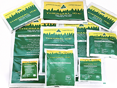 Thermal Ice Reusable Hot and Cold Gel Packs different sizes