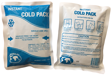 Single Use and Disposable Thermal Ice Instant Cold Packs
