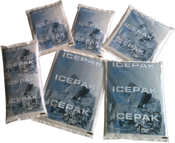 Gel Ice Packs for cold packaging and shipping