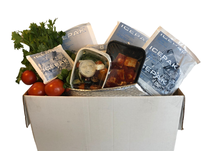 Gel Ice Packs for meal, food, seafood, pharmaceuticals delivery